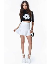 Nasty Gal | White Dancing On A Cloud Skirt | Lyst