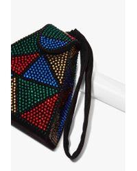 Nasty Gal | Multicolor Electric Feels Embellished Bag | Lyst