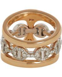Hoorsenbuhs - Metallic Dame Phantom Clique Rings - Lyst