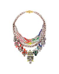 Shourouk | Multicolor River Rainbow Necklace | Lyst