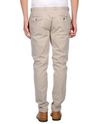 Paolo Pecora - Natural Casual Trouser for Men - Lyst