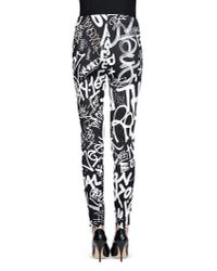 Moschino Black Casual Pants