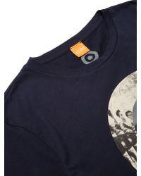 BOSS Blue Boss Orange Taiwo 2 Graphic Print T-shirt for men