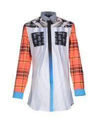 Basso & Brooke Multicolor Shirt for men