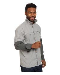 Patagonia - Gray Lightweight Field Shirt for Men - Lyst