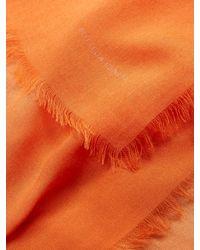 Bottega Veneta | Orange Dégradé Lightweight Wool Scarf | Lyst