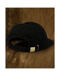 Denim & Supply Ralph Lauren | Black Twill Eaglepatch Baseball Cap for Men | Lyst