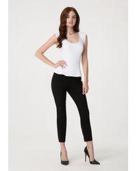 Bebe - Black Modal Skinny Pants - Lyst