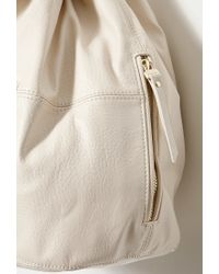 Forever 21 | Natural Faux Leather Hobo Bag | Lyst