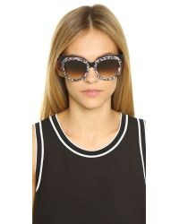 Peter & May Walk | Black Florentine Sunglasses | Lyst