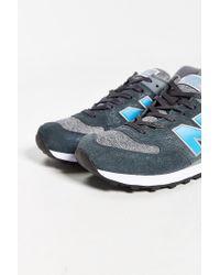 New Balance - Blue 574 Sweatshirt Running Sneaker for Men - Lyst