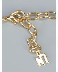 Nina Ricci | Metallic Embellished Teardrop Pendant | Lyst