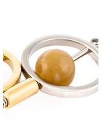 Marni | Brown Sphere Pendant Necklace | Lyst
