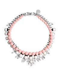 Ellen Conde - Pink Necklace - Lyst