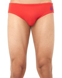 Robinson Les Bains - Red Yale Swim Briefs for Men - Lyst