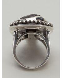 Pamela Love Metallic Arrow Head Statement Ring