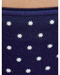 John Lewis Blue 3 Pack Cotton Bikini-Cut Briefs
