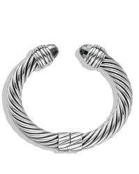 David Yurman | Black Cable Classics Bracelet With Hematine | Lyst