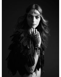 Jenny Bird Metallic Luna Warrior Wrap - Silver