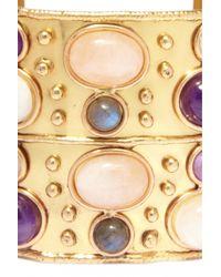 Sylvia Toledano | Metallic Rose Quartz Byzance Cuff | Lyst