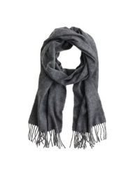 J.Crew Black Cashmere Scarf for men