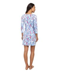 Lilly Pulitzer Blue Marlowe Dress
