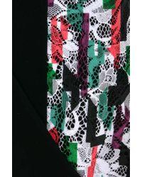 Balenciaga | Multicolor Hand-decorated Lace Dress | Lyst