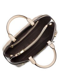 Michael Kors White Bette Large Satchel Bag