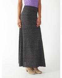 Alternative Apparel | Black Double Dare Eco-jersey Maxi Skirt | Lyst