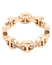 Hoorsenbuhs | Pink 'tri-link' Ring | Lyst