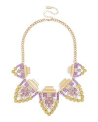 BaubleBar | Yellow Machu Picchu Collar | Lyst