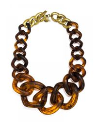 BaubleBar | Brown Jurassic Collar | Lyst