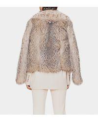 Gucci - Multicolor Badger Fur Jacket - Lyst
