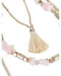 Ziba Metallic Noemi Necklace