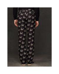 Ralph Lauren Purple Label - Black Zebra Linen Harrison Pant for Men - Lyst