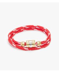 Miansai - Red Casing Bracelet for Men - Lyst