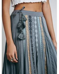Free People - Gray Fp One Kathna Maxi - Lyst