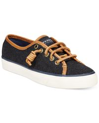 Sperry Top-Sider - Gray Spery Top-sider Women's Seacoast Sneakers - Lyst