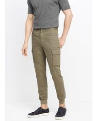 Vince Green Stretch Twill Cargo Jogger for men