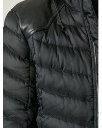 Saint Laurent - Black Classic Padded Jacket for Men - Lyst