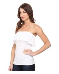 Lilly Pulitzer | White Wiley Tube Top | Lyst
