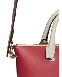 Chloé - Red 'baylee' Small Leather Tote - Lyst
