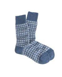 J.Crew - Blue Anonymous Ism Broken Line Socks for Men - Lyst