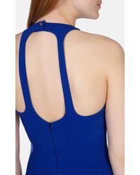Karen Millen Blue Jersey Shift Dress