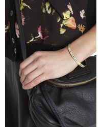 Marc By Marc Jacobs - Natural Cream Enamel Bangle - Lyst