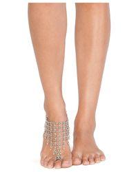 Natalie B. Jewelry - Metallic Queen's Veil Anklet - Lyst