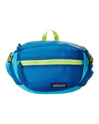 Patagonia | Blue Lw Travel Hip Pack | Lyst