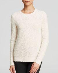 Theory White Sweater - Jaidyn Veiling