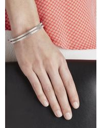 Marc By Marc Jacobs | Pink And Silver Tone Friendship Bracelet | Lyst