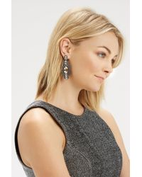Oasis | Multicolor Deco Stone Statement Drop Earrings | Lyst